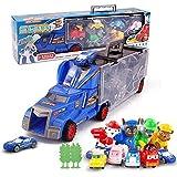 Paw Patrol Snow Slide Toys Set Children Container Trailer Toy