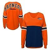 Denver Broncos Girl's TEEN Size Medium 7/9 Lightweight Sweatshirt