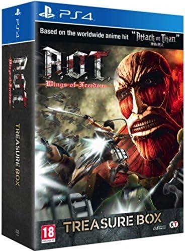Attack on Titan - A.O.T. Wings of Freedom - Caja de tesoros (Playstation 4): Amazon.es: Videojuegos