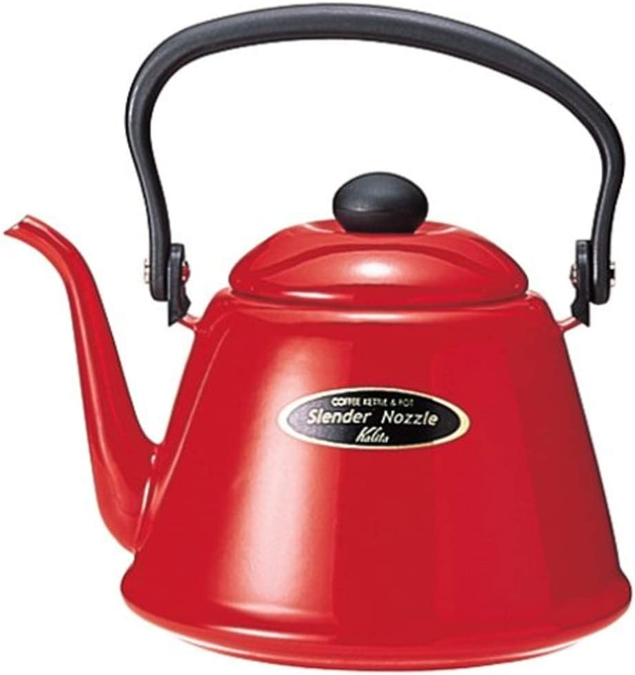 Kalita narrow opening Coffe Kettle 2L Red