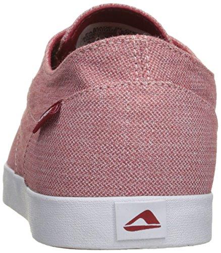 Reef Mænds Dæk Hånd 2 Tx Mode Sneaker Rød / Hvid T5s95HFoWW