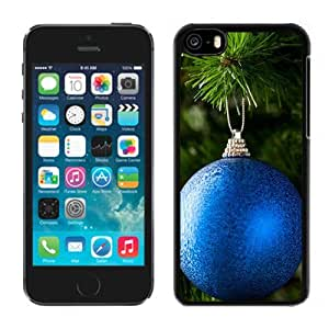 Blue Globes Hard Plastic iPhone 5C Protective Phone Case