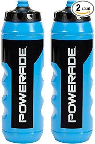 d85b70fee5 Amazon.com : Powerade Squeeze Water Bottle, 32 oz, 2 Piece : Sports &  Outdoors