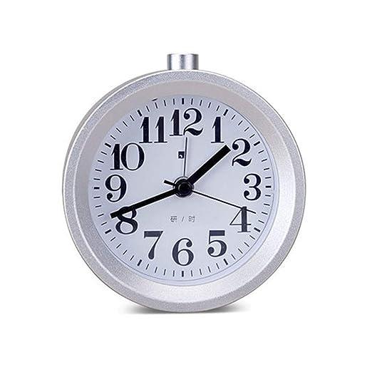 Reloj despertador silencioso en el dormitorio, mesa silenciosa ...
