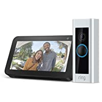Ring Pro Wi-Fi 1080p Video Doorbell + Echo Show 5 + $10 Amazon GC