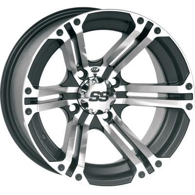 "ITP SS ALLOY SS212 Black Wheel with Machined Finish (14x6""/4x137mm)"