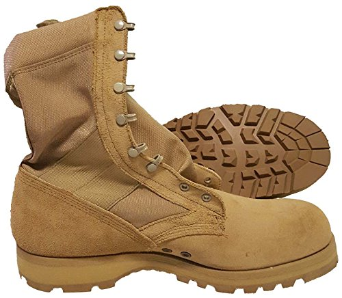 Military Outdoor Clothing Never Issued 14.5R Desert Hot Weather Army Combat Boot (Surplus Boots Military)