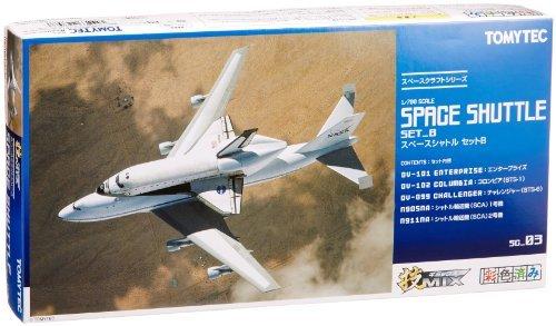 Tommy Tech Technical MIX SC03 space shuttle set B (Set Sc03)