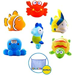 Large Educational Water Animals, Pack of 6