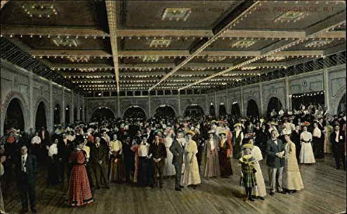 People Attnding Dance in Ballroom Women Original Vintage Postcard from CardCow Vintage Postcards
