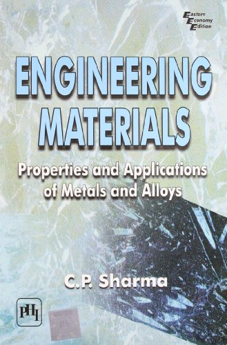 Engineering Materials: Properties and Applications of Metals and Alloys