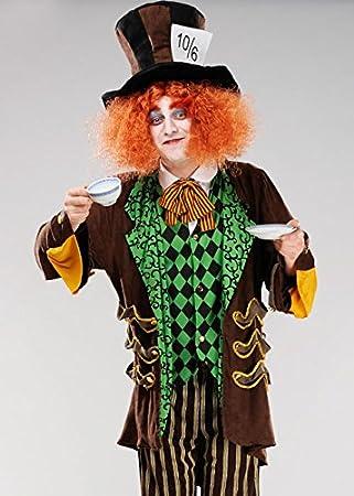 Magic Box Disfraz Adulto Mens clásico Sombrerero Loco M/L (41-43 ...