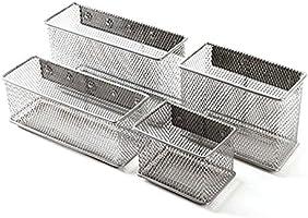 WOOSL - Bandejas metálicas de malla para almacenamiento ...