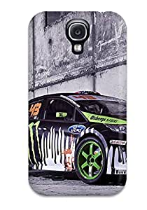 Protective Tpu Case With Fashion Design For Galaxy S4 (ford)