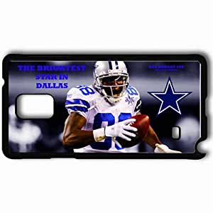 Personalized Samsung Note 4 Cell phone Case/Cover Skin 14630 cowboys wp 21 sm Black