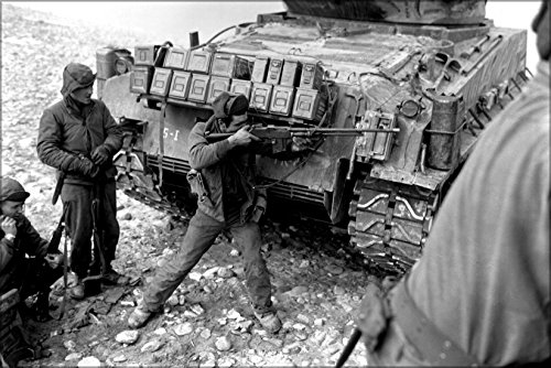 24x36 Poster; Bar, Browing Automatic Rifle, Korean War, Rang