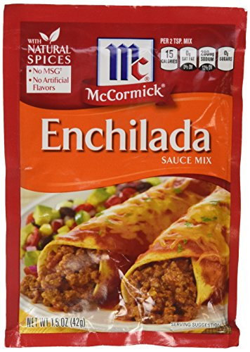 McCormick ENCHILADA Sauce Mix 1.5oz (3 Packets)