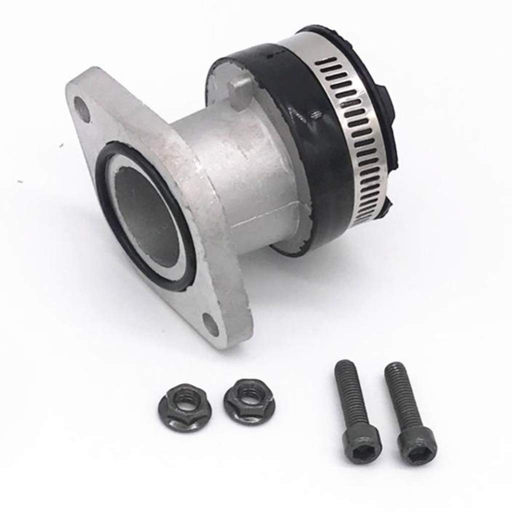 Perfeclan Aluminum Carburetor Intake Manifold for Yamaha//Tracker250//YFM250 Motorcycles Dirt Pit Bike