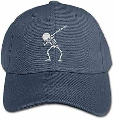 RZM YL Child Dabbing Skeleton Twill Adjustable Outdoor Peaked Hat Baseball  Cap ef0350d1e6ec