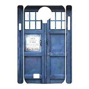 C-EUR Cell phone case Doctor Who TARDIS Police Call Box Hard 3D Case For Samsung Galaxy S4 i9500