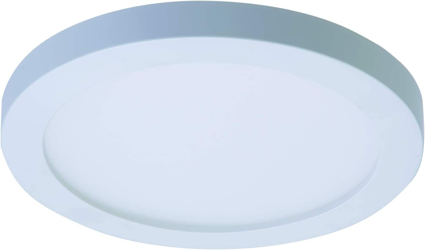 Halo SMD4R6930WH-CA SMD 4 in. 3000K Soft White Color Temperature Integrated Recessed Surface Mount 90 CRI,Title 20 Compliant LED Downlight Trim, 4 inch