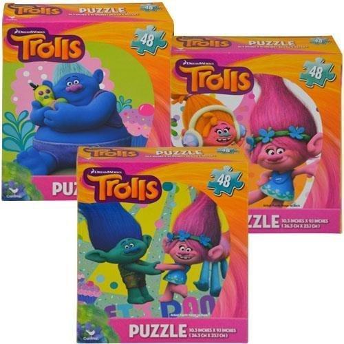 Trolls 48pc Puzzle 3 Asstd.