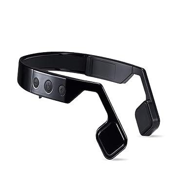 LYF Auricular Inalámbrico De Bluetooth De La Conducción del Hueso Inteligente Que Cancela El Ruido del