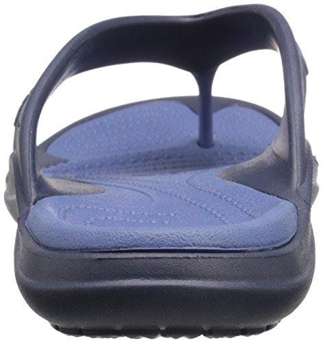 Crocs Modalità Unisex-adulto Sport Flip-to-the-heels Navy / Bijou Blu