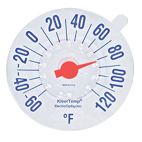 Low-Vision Windowpane Thermometer (Window Cling Thermometer compare prices)