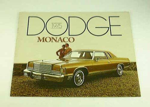 1975 75 Dodge MONACO BROCHURE Brougham Royal Hardtop (Hardtops Pickup)