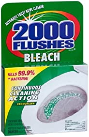 2000 FLUSHES Chlorine Bleach Automatic Toilet Bowl Cleaner, 35g [12-Pack]