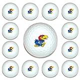 NCAA Kansas Jayhawks Golf Balls, 12 Pack