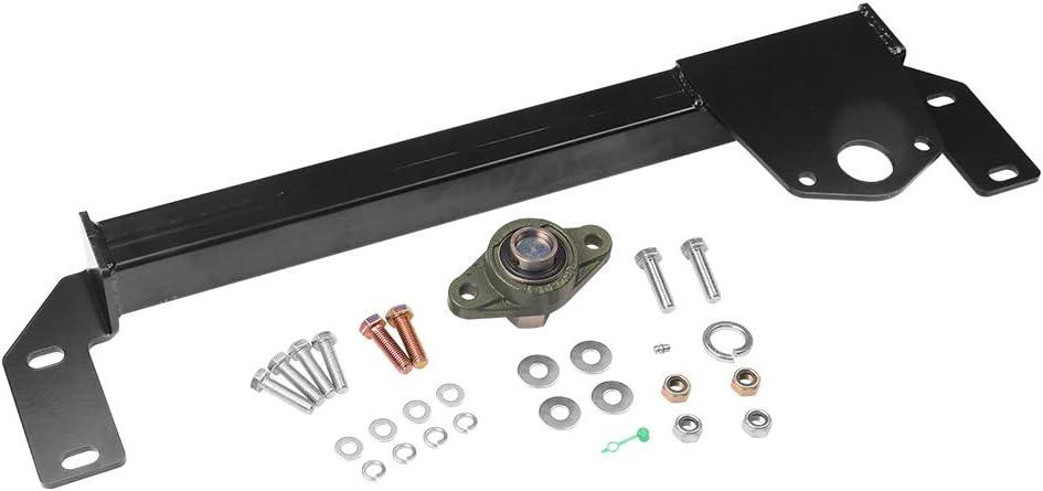 Steering Gear Box Stabilizer Kit - Fits 1994, 1995, 1996, 1997, 1998, 1999, 2000, 2001 Dodge Ram 1500, 94-02 Dodge Ram 2500, 3500 4WD - Steering Brace Bar - DSS Death Wobble Fix - Power Steering 4x4