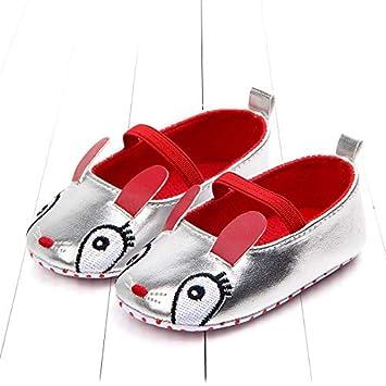 f7ad5dbe044db Amazon.com : SaveStore New 1pair PU Girl/boy Baby Antiskid First ...