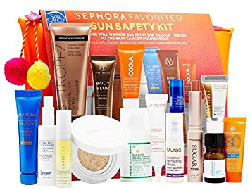 Amazon com: Sephora Favorites Sun Safety Kit 2017: Beauty