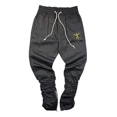 Fandecie Pantalones De Chándal Slim Togers para Hombres Pantalones ...