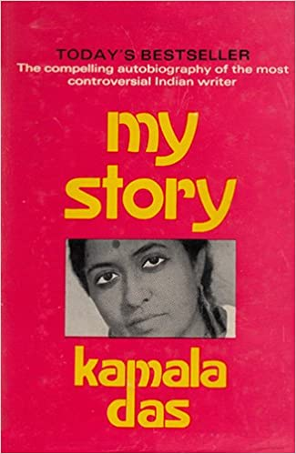 Image result for my story by kamala das book 1976 back cover