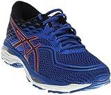 ASICS Women's Gel-Cumulus 19 Running Shoe, Blue Purple/Black/Flash Coral, 8 Medium US