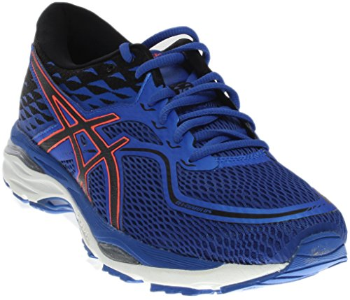 ASICS Women's Gel-Cumulus 19 Running Shoe, Blue Purple/Black/Flash Coral, 8.5 Medium US