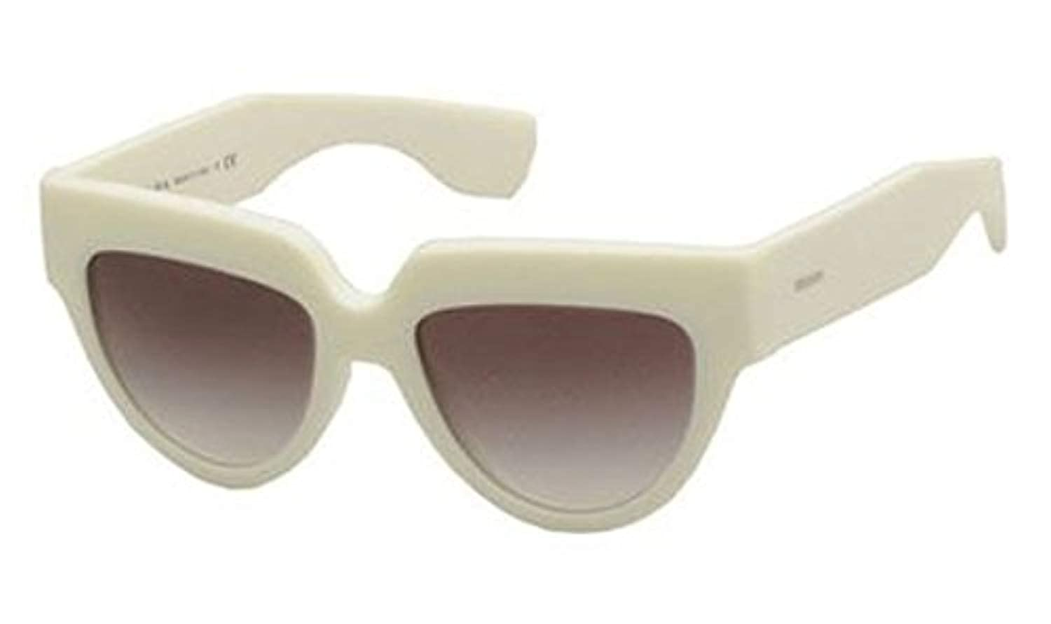 b6ef203f7a2aa Prada 29p Poeme Ivory Frame Grey Gradient Lens Plastic Sunglasses   Amazon.co.uk  Clothing