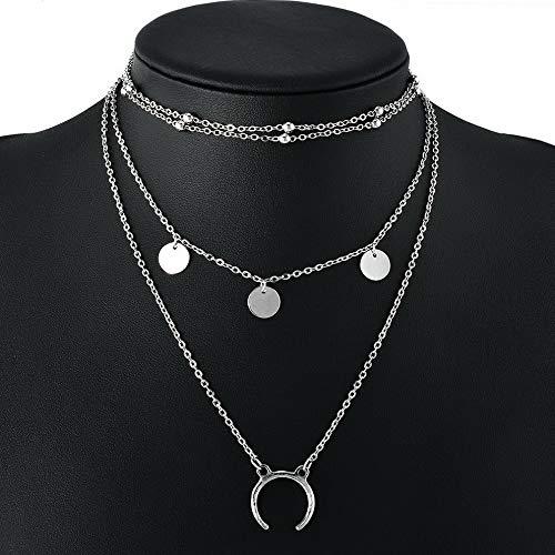Werrox Fashion Charm Women Choker Chunky Statement Bib Pendant Necklace Chain Jewelry | Model NCKLCS - 23457 |