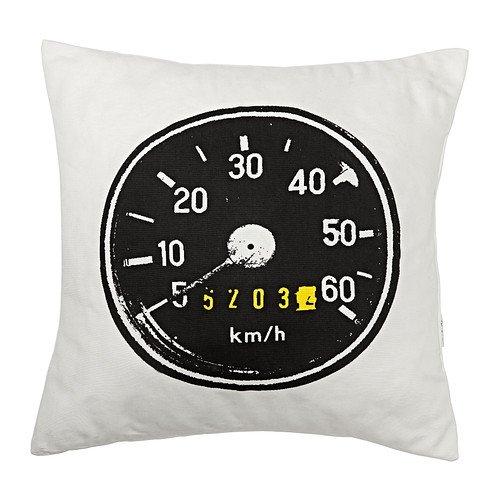 IKEA AKTUR - cojín, negro - 50 x 50 cm: Amazon.es: Hogar