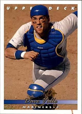 Amazoncom 1993 Upper Deck Baseball Card 100 Dave Valle