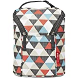 Skip Hop Double Bottle Bag (Triangles)