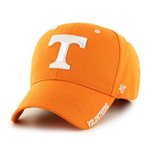 Ncaa Adjustable Hats ('47 NCAA Frost '47 MVP Adjustable Hat, One Size, Vibrant Orange)