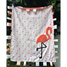 FLAMINGO ~ BABY CUDDLE BLANKET