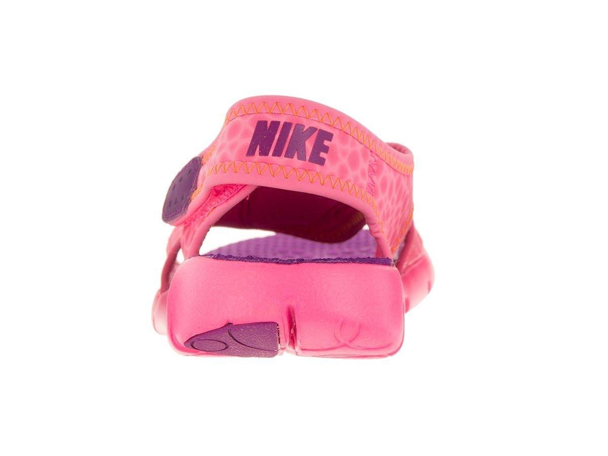 separation shoes 8dcb6 c3d58 Amazon.com   Nike Kids  Sunray Adjust 4 Toddler Sandals   Sport Sandals    Slides