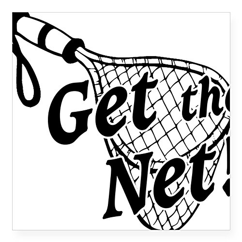 Cafepress   Get The Net 2012 Square Sticker 3  X 3   Square Bumper Sticker Car Decal  3 X3   Small  Or 5 X5   Large