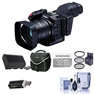 Xc10 do it yourselfore canon xc10 ultra high definition 4k professional camcorder bundle with 32gb class 10 u3 sdhc solutioingenieria Image collections