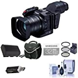 Canon XC10 Ultra High Definition 4K Professional Camcorder - Bundle With 32GB Class 10 U3 SDHC Card, Spare Battery, Video Bag, 58mm Filter Kit, Card Reader, Cleaning Kit